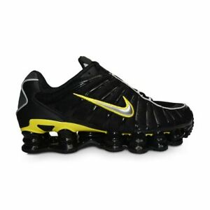 Details about Mens Nike Shox TL - CN0151002 - Black Metallic Silver Yellow
