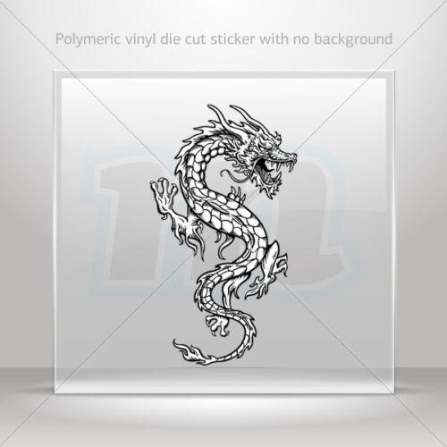 Decals Sticker Dragon Martial Arts Car Motorbike Bike Garage st5 X2297