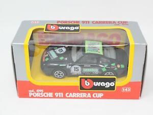 1-43-BURAGO-BBURAGO-4195-PORSCHE-911-CARRERA-SUPER-CUP-BOXED-QB3-043
