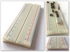830 Kontakte Steckboard Steckbrett Breadboard-Platine Experimentierbrett LEI5