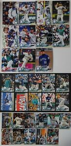 2018-Topps-Series-1-2-and-Update-Seattle-Mariners-Team-Set-of-32-Baseball-Cards