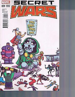 Marvel ARMOR WARS #1 Skottie Young Baby Variant NM//M