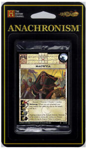 Set 5 Aztec Warrior Pack Itzcoatl *CC* 5 cards Anachronism TCG