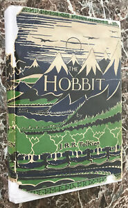 The-Hobbit-by-J-R-R-Tolkien-1965-Early-UK-Edition-with-Original-Dust-Jacket