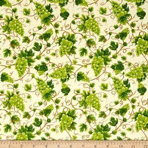 Fresh-Harvest-Grape-Cotton-Fabric-Fabri-Quilt-By-the-Yard-BFab