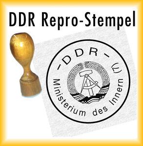 Stempelkissen DR DDR DDR Stempel Repro Siegel Deutsche Reichsbahn