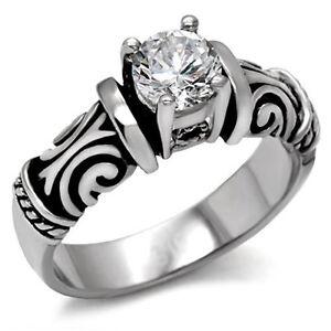 Image Is Loading Tribal Irish Celtic Wedding Engagement Ring Women Commitment