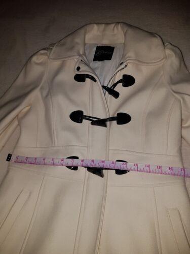 Ivory Wool Størrelse Gæt M I Coat Euc RaqxxTwg5d