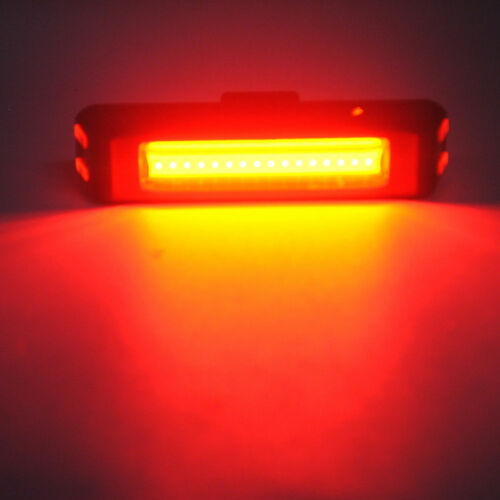 USB LED  Bike Front Rear Tail Light Rechargeable Warning Lamp Waterproof 2018 EN