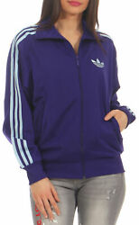 Adidas Firebird Damen Trainingsjacke adicolor lila Originals Jacke S NEU P01579