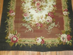 Antique-French-Aubusson-18th-Century-Size-5-039-7-039-039-x7-039-1-039-039