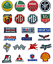 F1-Formula-One-RACE-SPONSOR-Patches-Iron-On-Patch-car-logo-sports miniatura 1