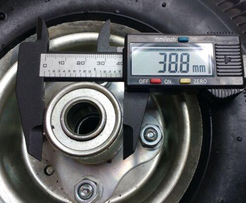 MAYPOLE GENUINE PNEUMATIC RUBBER STEEL SPARE WHEEL FOR SACK TRUCKS 260MM MP426