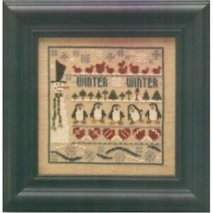 Winter-Line-Up-Cross-Stitch-Chart-By-The-Trilogy-FREE-P-amp-P