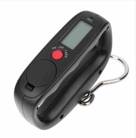 Electronic Portable Luggage Hanging Travel LCD Digital Scale 50kg/10g XRP Weight