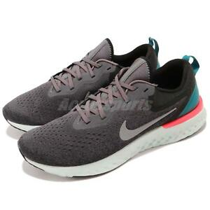 7008a5e0728c57 Nike Odyssey React Thunder Grey Green Pink Men Running Shoes ...
