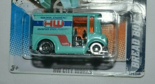 Details about  /2011 HOT WHEELS HW CITY WORKS 1//10 BREAD BOX TURQUOISE 171//244