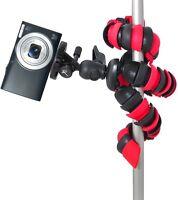 12 Flex Tripod For Sony Dsc-w710 Dsc-tf1 Dsc-wx80 Dsc-wx300 Dsc-hx50v Dsc-tx30