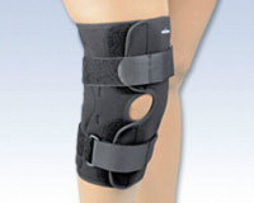 Hinged Knee Stabilizing Stabilizing Knee Brace Wrap Around Sports Support Safe T Sport FLA NEW d9548d