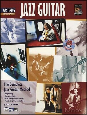 Mastering Jazz Guitar Improvisation Complete Method TAB Music Book/CD