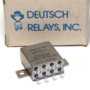 MIL-Relais M5757/10-029, Deutsch Relays Inc., 2x UM, 26.5 V, Sealed Relay, NOS
