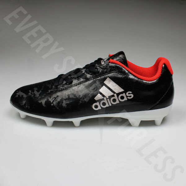 b261cdd65 Adidas X 17.4 FG Women's Soccer Cleats BA8564 - Black/Plamet/Red(NEW. Hover  to zoom