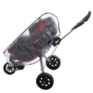 Clear Waterproof Dustproof Zipper Golf Bag Rain Cover ...
