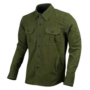 Mens-Biker-Motorcycle-Shirt-Water-Resistant-XXXL-Made-with-Kevlar-CE-Armour