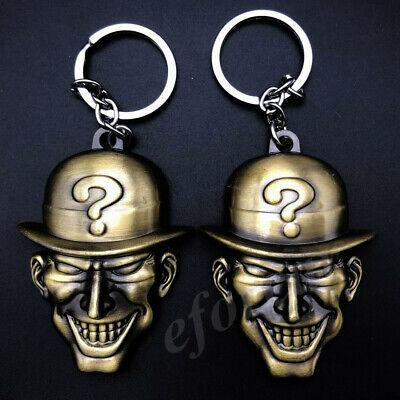 2pcs Metal Bronze The Riddler Question Mark Mask Batman ...