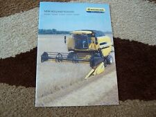 NEW HOLLAND CX5 /& CX6 LATERALE /& HILLSIDE Mähdrescher Prospekt 02//2018 MD 61