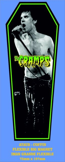 The Cramps Lux Interior FLEXIBLE BIG MAGNET IMAN GRANDE