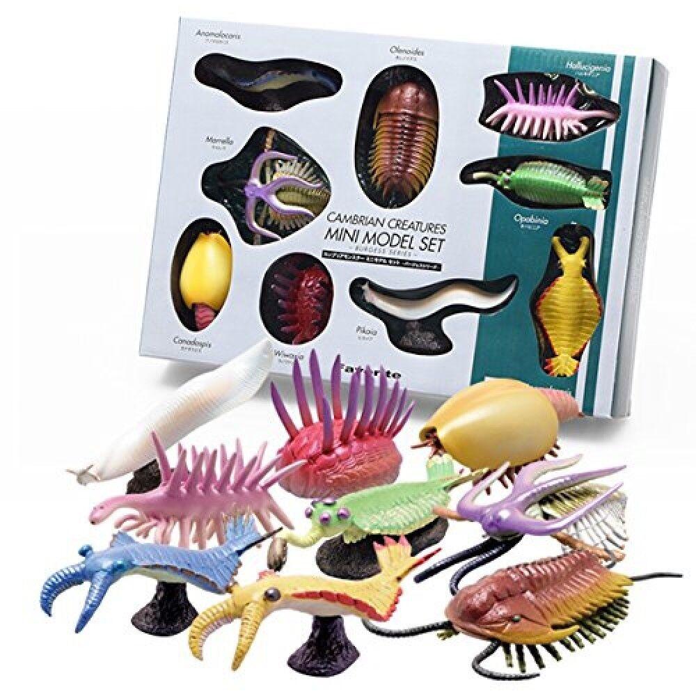 Favorit cambrian kreaturen mini - modell burgess serie dinosaurier abbildung 9set fs