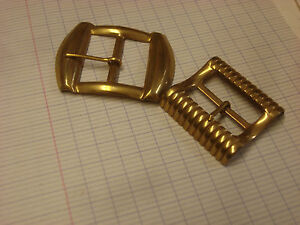 ANCIENNE BOUCLES de ceinture métal doré vintage   eBay 63bc874b8ae