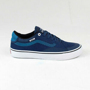 Vans Tnt Advanced Pro Trainers Shoes In Gibraltar Sea Blue Uk Size 7 8 9 10 12 Ebay