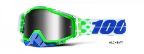 100/% RACECRAFT MIRROR MX BRILLE Motocrossbrille Google MTB Brille