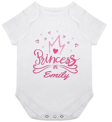 Bebé Personalizado Unisex Chaleco//Body-Regalo Niño Niña//Ropa-añadir cualquier nombre