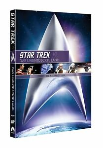 DVD - Star Trek VI - Das Unentdeckte Terra - Il Film Del Cinema - Remastered