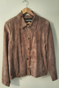 Pre-Owned-Women-s-Marvin-Richards-Brown-Leather-Size-L
