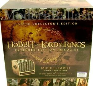 Lord of the Rings Middle-Earth: 6-Film Limited Collector's Edition - SHPS FAST