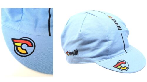 Cinelli Supercorsa Lazer Blue Bike Cycling Cap Fixed Gear Made in Italy
