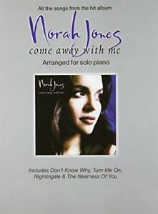 Norah-Jones-034-Come-Away-with-Me-034-Arranged-for-Solo-Piano-by-Paperback-Book