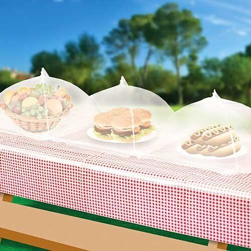 & Set of 3 Food Tents - Picnic or BBQ Insect Cover | eBay