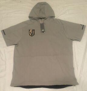 pretty nice 52562 6a0e9 Details about RARE Las Vegas Golden Knights Hoodie Sweatshirt MENS Large  Adidas NHL Hockey NEW