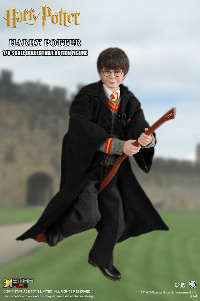Star Ace Toys Toys Toys SA0001 Harry Potter Daniel Radcliffe Action 1/6 Figure New in Hand 2a534a