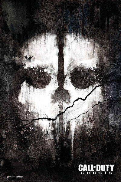 Call of Duty Ghosts - Skull - COD - Game Poster #1B