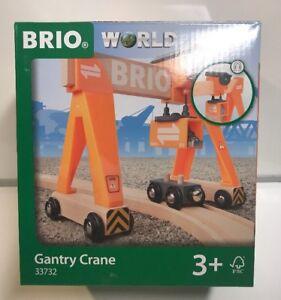 Brio Wooden Railway Gantry Crane #33732 , New
