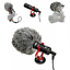 Camera Rig Microphone for Ghost Hunting Equipment 3.5mm Livestream Film Video