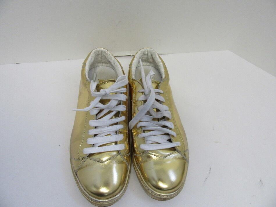 Just de CAVALLI Zapatillas de cuero de Just oro para mujer 16e1ee