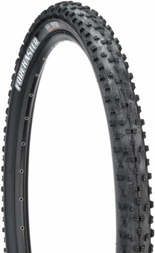Black, Maxxis Forekaster Tire Tubeless Folding 29 x 2.6 Forekaster Tire