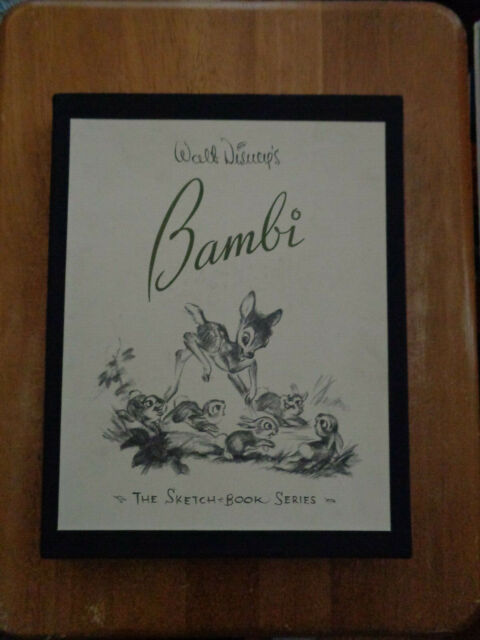 The Sketchbook: Walt Disney's Bambi 1997 HC (in slip case)